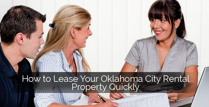 Lease Oklahoma City Rental Property
